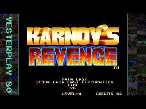 YesterPlay: Karnov's Revenge / Fighter's History Dynamite (Arcade, Data East, 1994)